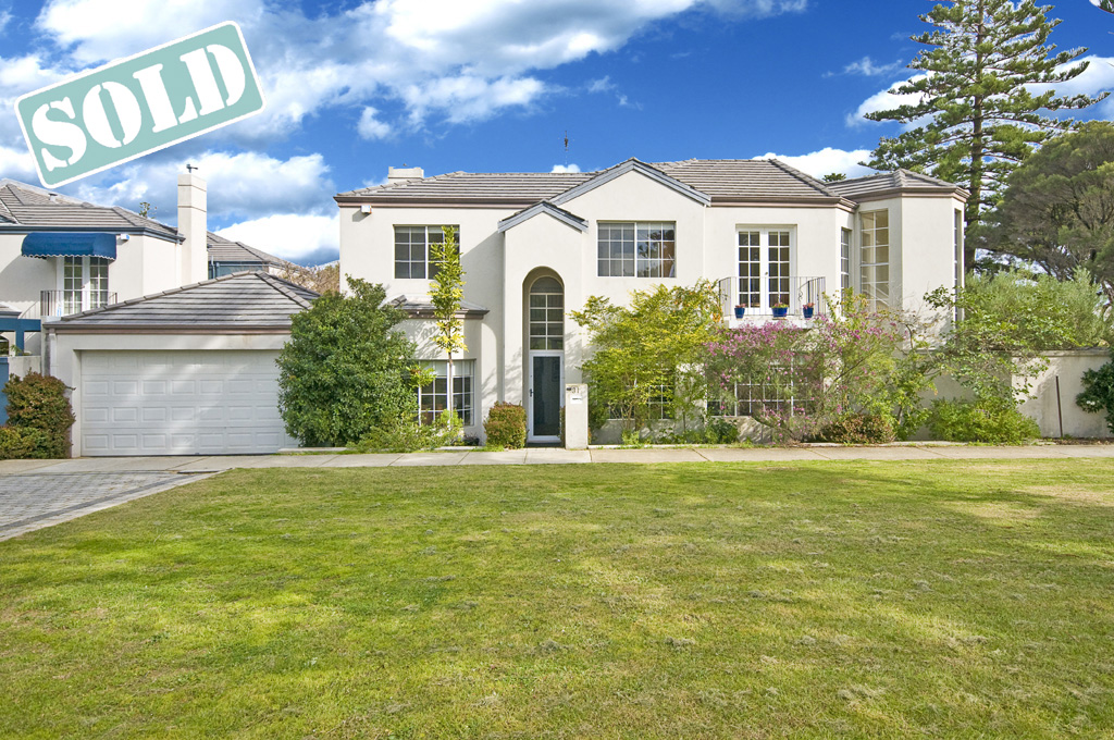 SOLD 31 Broome Street Cottesloe WA 6011